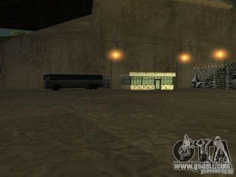 Bus Park v1.1 for GTA San Andreas sixth screenshot