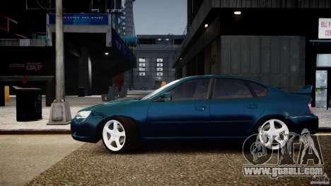Subaru Legacy B4 GT for GTA 4 back left view