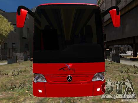 Mercedes Travego for GTA 4 upper view
