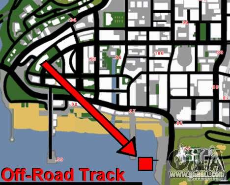 Off-Road Track for GTA San Andreas fifth screenshot