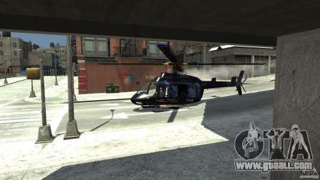 NYC Helitours Texture for GTA 4 right view