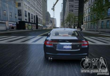 Jaguar XFR 2010 V.2.0 for GTA 4 inner view
