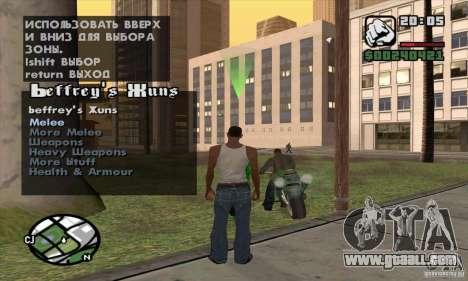 Gun Seller for GTA San Andreas third screenshot