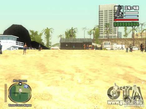 New Beach bar Verona for GTA San Andreas third screenshot
