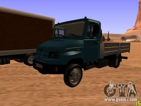 ZIL 5301 Goby for GTA San Andreas upper view