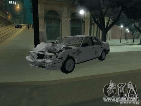 Ford Crown Victoria for GTA San Andreas interior