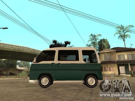 VW T1 Samba for GTA San Andreas left view