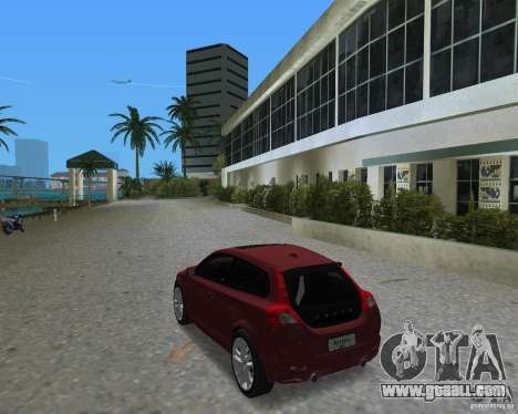 Volvo C30 for GTA Vice City left view