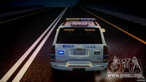 Chevrolet Trailblazer Police V1.5PD [ELS] for GTA 4 interior