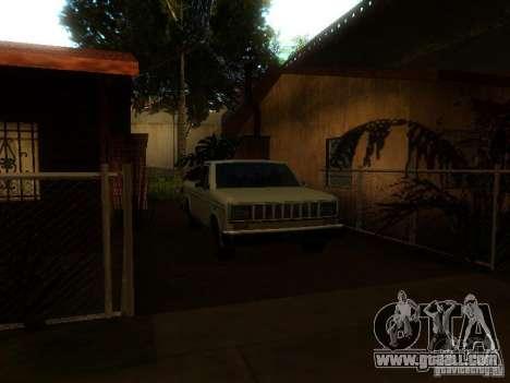New Car in Grove Street for GTA San Andreas fifth screenshot