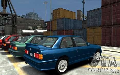 BMW M3 E30 for GTA 4 right view