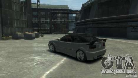 Volkswagen Corrado for GTA 4 right view