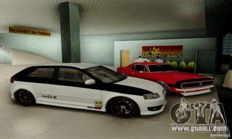 Audi S3 for GTA San Andreas wheels