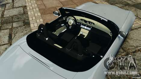 BMW Z8 2000 for GTA 4 upper view