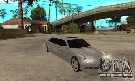 Mercedes-Benz CL65 Limusine for GTA San Andreas back view
