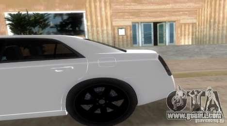 Chrysler 300C SRT V10 TT Black Revel 2011 for GTA Vice City left view