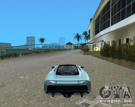 Jaguar XJ220 for GTA Vice City right view