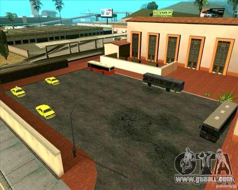 Priparkovanyj transport v1.0 for GTA San Andreas second screenshot