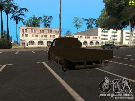 Moonbeam Pickup for GTA San Andreas left view