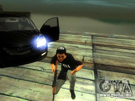 Boy in the FBI for GTA San Andreas second screenshot