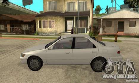 Toyota Camry 2.2 LE 1997 for GTA San Andreas left view