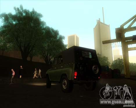 UAZ 31512 Military for GTA San Andreas left view