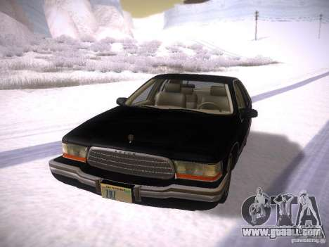 Buick Roadmaster 1996 for GTA San Andreas left view