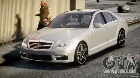 Mercedes-Benz S63 AMG [Final] for GTA 4