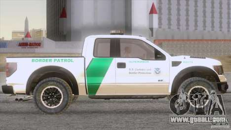 Ford Raptor for GTA San Andreas right view
