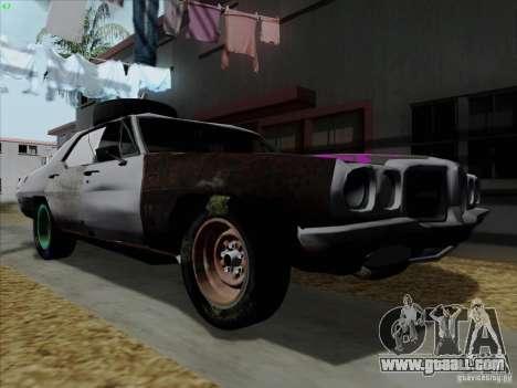BETOASS car for GTA San Andreas left view