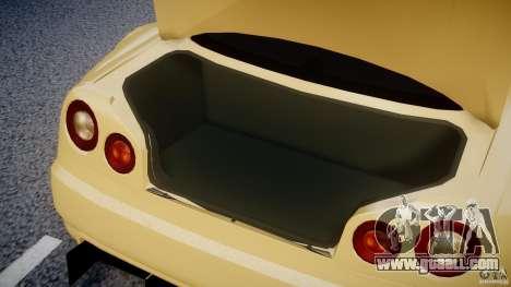 Nissan Skyline R34 v1.0 for GTA 4 back view
