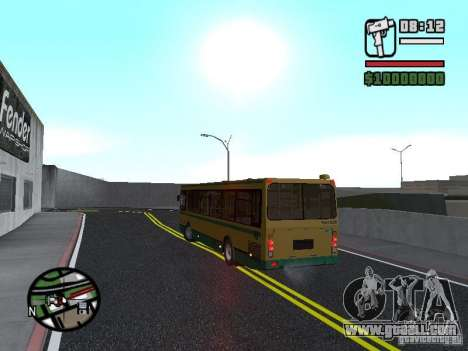 LIAZ 5283.01 for GTA San Andreas inner view