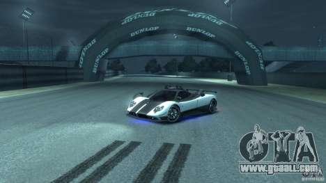 Pagani Zonda Cinque 2009 for GTA 4 inner view