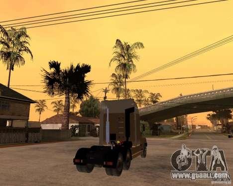 SuperZiL v. 2.0 for GTA San Andreas back left view