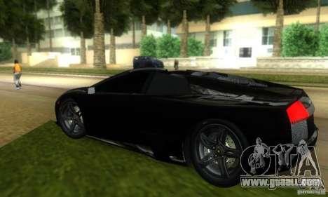 Lamborghini Murcielago LP640 Roadster for GTA Vice City right view