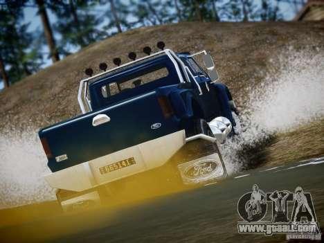 Ford F-650 Super Crewzer for GTA 4 right view