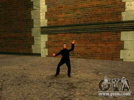 Workout Vusi for GTA San Andreas second screenshot