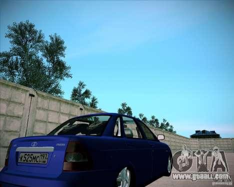 Lada Priora Chelsea for GTA San Andreas right view