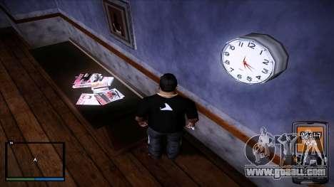 Working wall clock for GTA San Andreas third screenshot