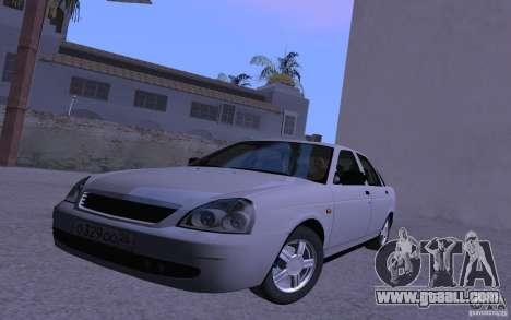 LADA 2170 Priora Pnevmo for GTA San Andreas