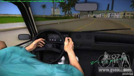 VAZ 1111 Oka for GTA Vice City interior