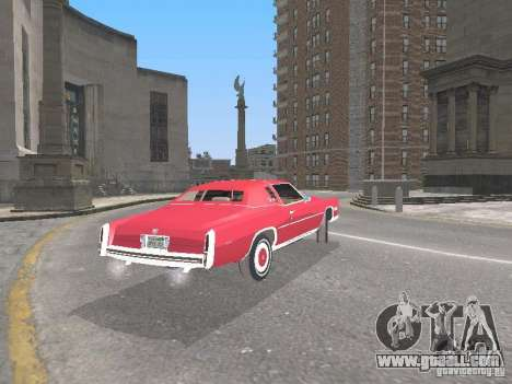 Cadillac Eldorado for GTA San Andreas right view