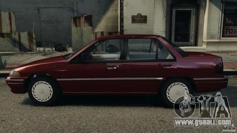 Mercury Tracer 1993 v1.1 for GTA 4 left view