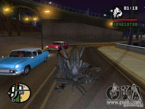 Alien Xenomorph for GTA San Andreas second screenshot