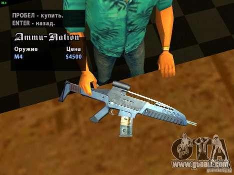 XM8 V1.1 for GTA San Andreas fifth screenshot
