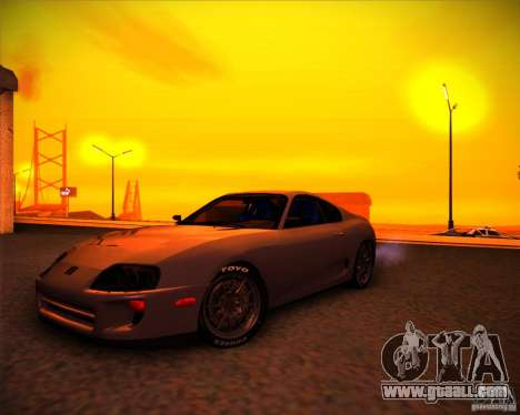 Toyota Supra SHE for GTA San Andreas