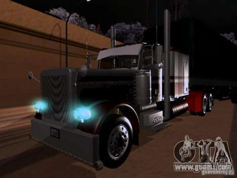 Peterbilt 389 Custom 2009 for GTA San Andreas