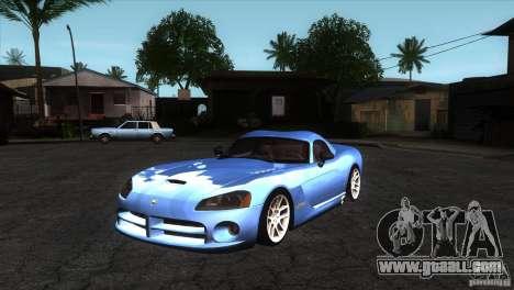 Dodge Viper SRT10 Stock for GTA San Andreas