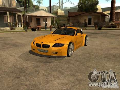 BMW Z4 Style Tuning for GTA San Andreas
