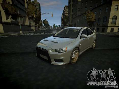 Mitsubishi Lancer Evolution X for GTA 4